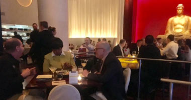 Buddakan was one of about 150 restaurants participating in Thursday's Dining Out For Life fund raiser.