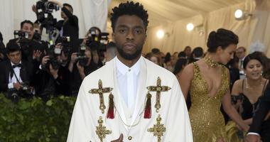 Chadwick Boseman attends The Metropolitan Museum of Art's Costume Institute benefit gala