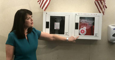 Delaware County DA Katayoun Copeland announces Narcan will be available at more than 60 government buildings throughout the county.