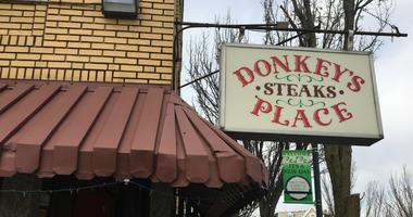 Donkeys place in Camden, N.J.