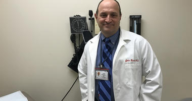 Doctor John Russell, Abington-Jefferson Health's family medicine residency director