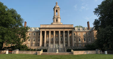 Old Main building at Penn State University