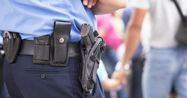 Four Cherry Hill school officers are fully armed.