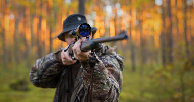 Hunting.