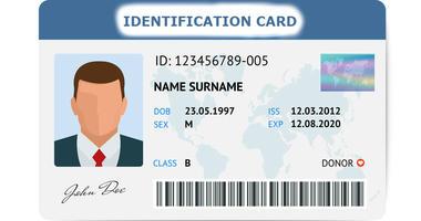 ID Card Generic