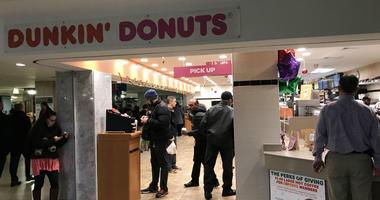 Dunkin' Donuts at Suburban Station in Center City Philadelphia.