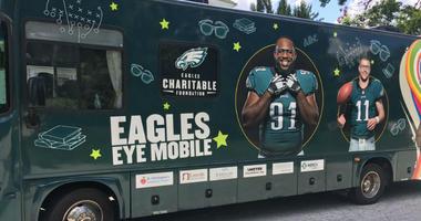 The Philadelphia Eagles Eye Mobile unit