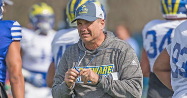 Danny Rocco is in his second season as head football coach at the University of Delaware.