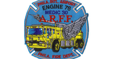 Philadelphia Fire Department patch for Engine 78.