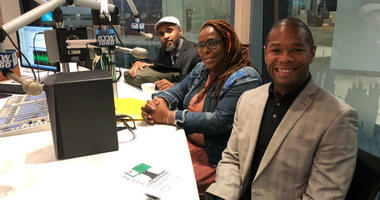 From far left: Kempis Songster, co-founder of The Redemption Project; Chantay Love, founder of Every Murder is Real (EMIR) Healing Center; and Ted Corbin, co-creator of Healing Hurt People at Drexel University.