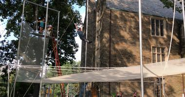 Philadelphia Flying Trapeze is now part of the Philadelphia School of Circus in Mount Airy