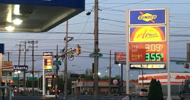 Sunoco at Front Street and Oregon Avenue in South Philadelphia has regular gasoline for $3.09 per gallon.