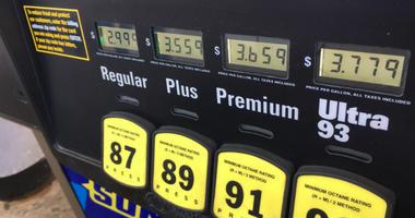 Gas prices in the Philadelphia area