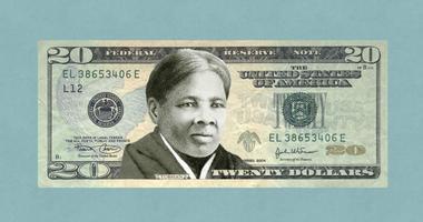 Harriet Tubman on 20 Dollar Bill
