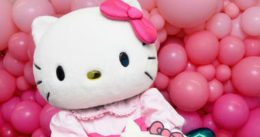 Hello Kitty attends Proactiv's Celebration of Pop Icon Hello Kitty's Birthday and the Launch of Proactiv ULTA Beauty Exclusive Hello Kitty Brush Kit with Singers Ally Brooke and Maddie Poppe on November 1, 2018 in Los Angeles, California.