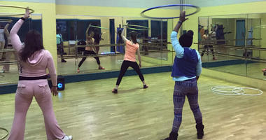 Philadelphians are moving and grooving at an innovative hula hoop exercise class, led by Philadelphia Parks & Recreation.