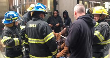 A fire in Frankford injured at least 2 residents.