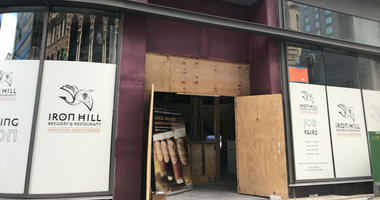 Iron Hill Brewery is getting ready to open its first Philadelphia location in Center City
