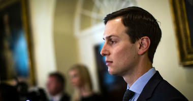 Jared Kushner, senior White House adviser, listens as U.S. President Donald Trump speaks about the hostages released from North Korea, during a Cabinet meeting in the Cabinet Room of the White House, on Wednesday, May 9, 2018.