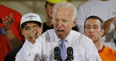In this March 6, 2018 file photo, former Vice President Joe Biden speaks at a rally in Collier, Pa.