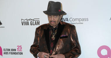 Joe Jackson is shown at the 26th Annual Elton John Academy Awards Viewing Party held at West Hollywood Park on March 4, 2018.