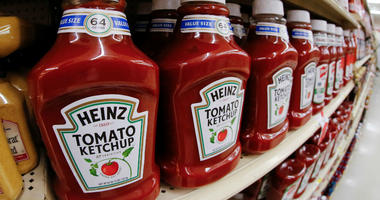 This Feb. 21, 2018, file photo shows a display of Heinz Ketchup in a market in Pittsburgh.