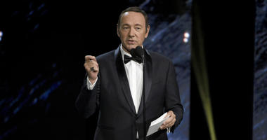 In this Oct. 27, 2017, file photo, Kevin Spacey presents an award in Beverly Hills, Calif.