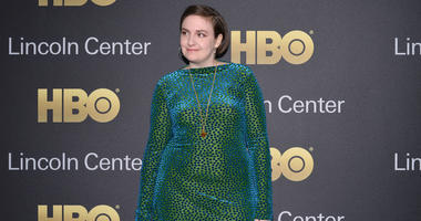 Actress Lena Dunham attends Lincoln Center's American Songbook Gala at Alice Tully Hall in New York, NY, on May 29, 2018.