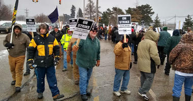 General Electric completed the spinoff off its century-old railroad division on Monday. The Erie, PA locomotive factory is facing its first open-ended strike since 1969-1970.