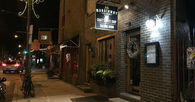 A Manatawny Stillworks tasting room on East Passyunk Avenue in South Philadelphia.