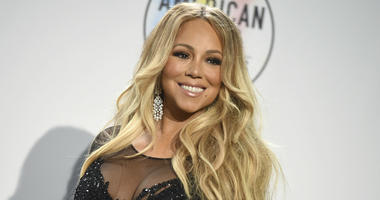 In this Oct. 9, 2018, file photo Mariah Carey poses in the press room at the American Music Awards at the Microsoft Theater in Los Angeles.