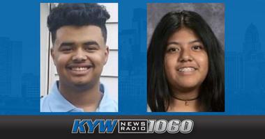 Victor Skerrett, 14, and Sandra Sanchez, 13, are missing.