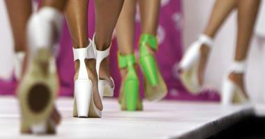Models walk the runway
