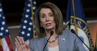 Speaker of the House Nancy Pelosi, D-Calif., meets with reporters the day after the Democrat-controlled House Judiciary Committee voted to hold Attorney General William Barr in contempt of Congress, eat a news conference on Capitol Hill in Washington.