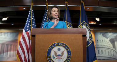 In this May 16, 2019, photo, House Speaker Nancy Pelosi of Calif., speaks at the Capitol in Washington.