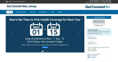 New Jersey will crank up a six-week informational campaign about Obamacare enrollment.