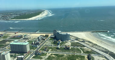 View from the new Ocean Resort Casino