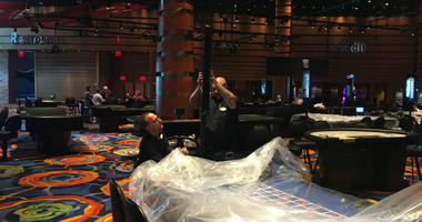 A lot of work is still being done to prepare for Ocean Resort Casino's big day.