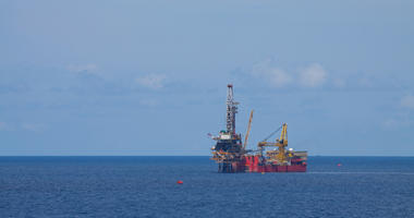 Rig for production oil and gas in offshore.