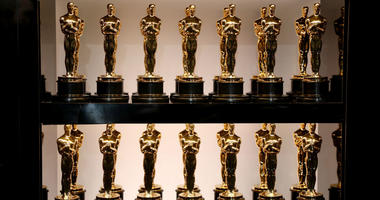 In this handout provided by A.M.P.A.S., Oscar Statues at the 90th Annual Academy Awards at the Dolby Theatre on March 4, 2018 in Hollywood, California.