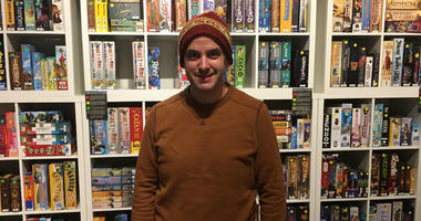 Matt Hendricks opened a board game-themed cafe called Thirsty Dice in Fairmount in October.