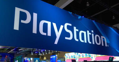 File photo dated 11/06/14 of a PlayStation sign