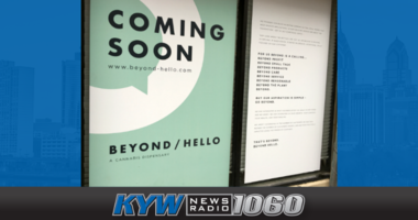 Beyond/Hello opening marijuana dispensary