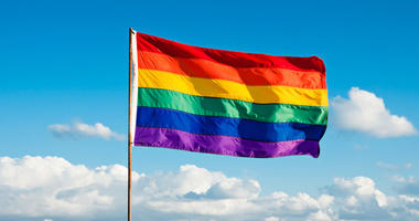 LGBTQ pride flag