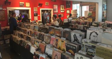 Crowds shopping at Creep Records in Northern Liberties on Record Store Day.