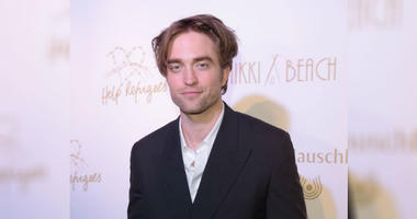 Robert Pattinson attends the HFPA & Participant Media Honour Help Refugees' during the 72nd annual Cannes Film Festival on May 19, 2019 in Cannes, France.
