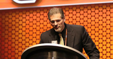 Philadelphia Flyers general manager Ron Hextall is shown in 2014.