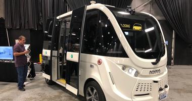 NJ Transit self-driving buses
