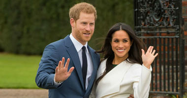 Prince Harry and Meghan Markle. The BBC has waived the licence fee for local communities wanting to watch the royal wedding. (Photo by PA Images/Sipa USA) *** US Rights Only ***