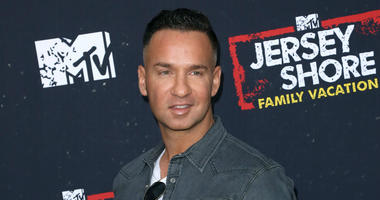 "In this March 29, 2018 file photo, Mike ""The Situation"" Sorrentino arrives at the ""Jersey Shore Family Vacation"" premiere in Los Angeles."